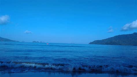 background footage laut biru blue sea youtube