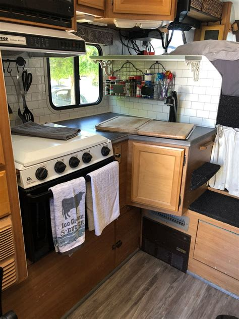 truck camper kitchen remodel truck camper magazine