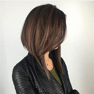 Women's Long Dramatic A Line Bob with Front Layers and ...