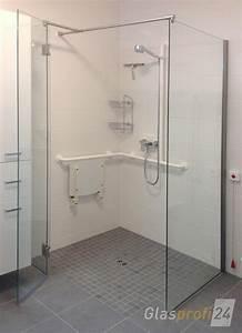 Dusche In Dusche : ebenerdige dusche bauen aus glas glasprofi24 ~ Sanjose-hotels-ca.com Haus und Dekorationen