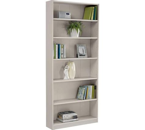 Argos Maine Bookcase by Buy Argos Home Maine 5 Shelf Wide Bookcase Grey