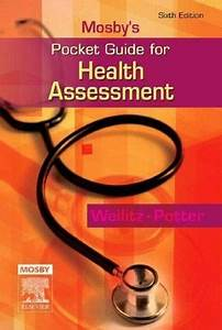 Nursing Pocket Guides  Mosby U0026 39 S Pocket Guide For Health Assessment By Patricia A  Potter And