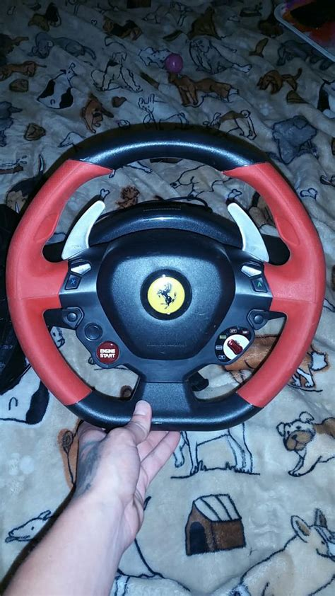 With the ferrari 458 spider, thrustmaster is making it possible for everyone to have a realistic wheel to use in racing games on xbox one. Thrustmaster ferrari 458 spider racing wheel for xbox 360 for Sale in Grove, OK - OfferUp