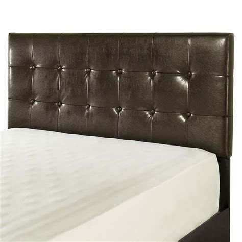 Leather Headboards For King Beds by Crosley Andover Faux Leather King California King