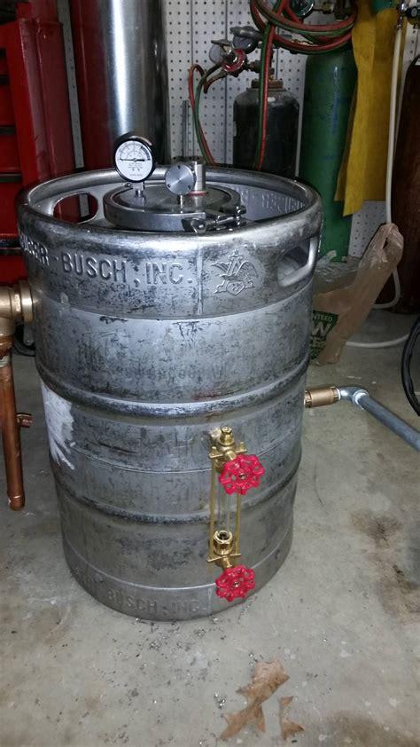 Sankey Keg Boiler Tek Gourmet  Medicinal Mushrooms