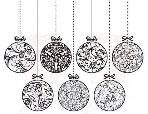 16 christmas clip art black and white merry christmas