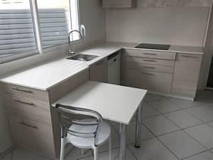 Plan De Travail Dekton : plan de travail de cuisine en dekton zenith arcachon ~ Melissatoandfro.com Idées de Décoration