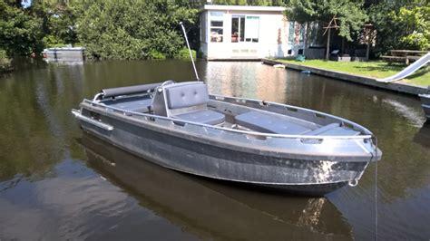 Boot Aluminium Steelfish by Bullit Tender Sloep Sloepverhuur Aalsmeer