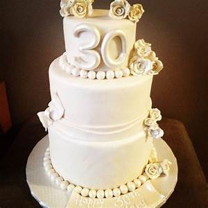 30th wedding anniversary cake wedding ideas With 30th wedding anniversary party ideas