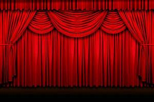 Rideau rouge photo du matriel de qualit tlchargement for Theatre curtains psd