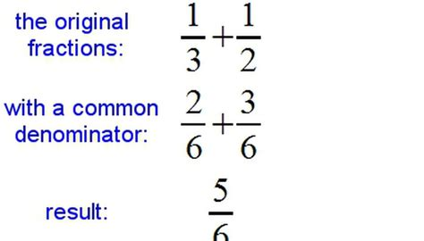 Adding & Subtracting Fractions Sciencing