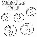 Marble Ball Vector Marbles Cartoon Drawing Glass Av Marmeren Clip Marmo Achtergrond Vektoruppsaettning Vettoriale Drawn Vektorsatz Illustrations Luxueuze Textuurontwerp Witte sketch template