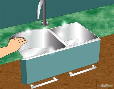 how to caulk the kitchen sink wikihow