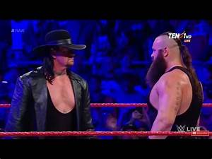 Wwe Raw 3-6-2017 Undertaker Returns To Raw Full HD - YouTube