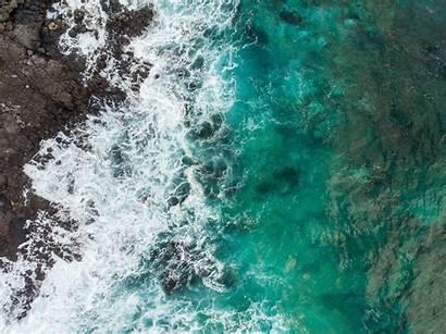 Teal Iphone 4k Wallpapers Pastel Seashore Rocky