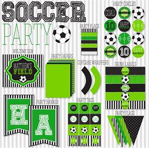 Score!!! Soccer Party Printables!! - B Lovely Events