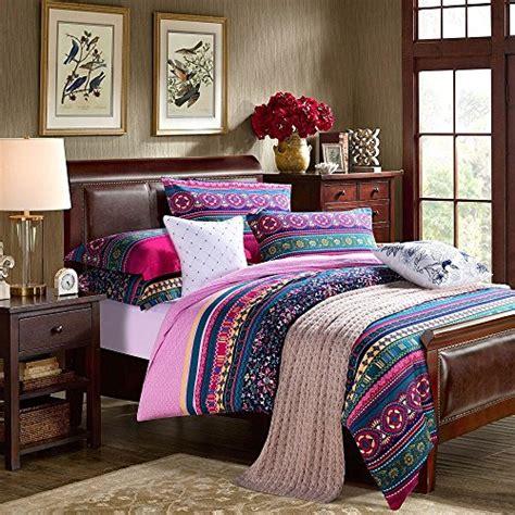 bohemian duvet cover king fadfay home textile modern colorful boho bedding 4856