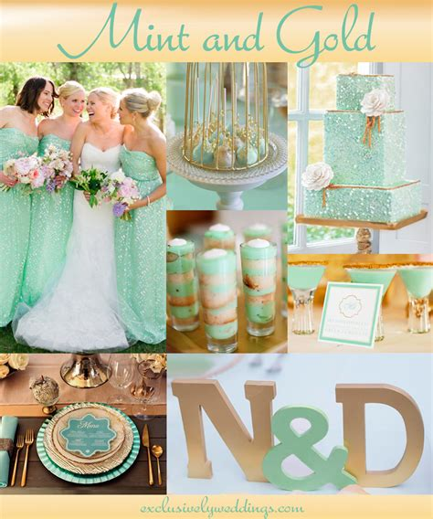 colors for weddings your wedding color pair with a metallic for stunning shine exclusively weddings