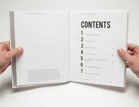 hints for an advertising creative the book design blog