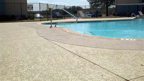 resurfacing pool cool deck new pool deck for apartment complex sundek of