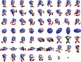 Sonic the Hedgehog 1 Sprite Sheet