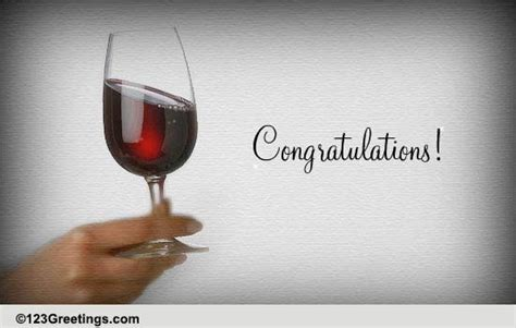 congratulations cheers   home ecards greeting