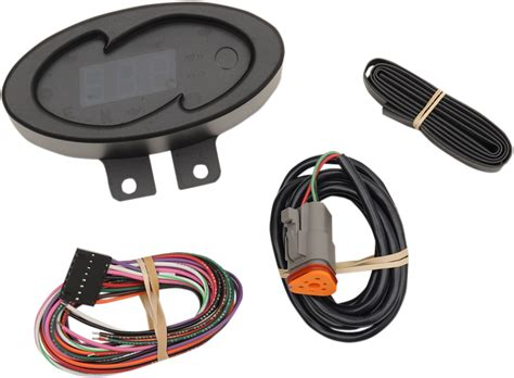 Dakota Digital Black Blue Oval Electronic 5000 Series Mph