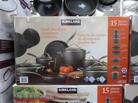 kirkland cookware anodized signature hard piece costco vary subject pricing inventory change any