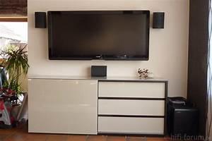 Fernseher An Der Wand : tv wandhalterung kabel verstecken ~ Sanjose-hotels-ca.com Haus und Dekorationen