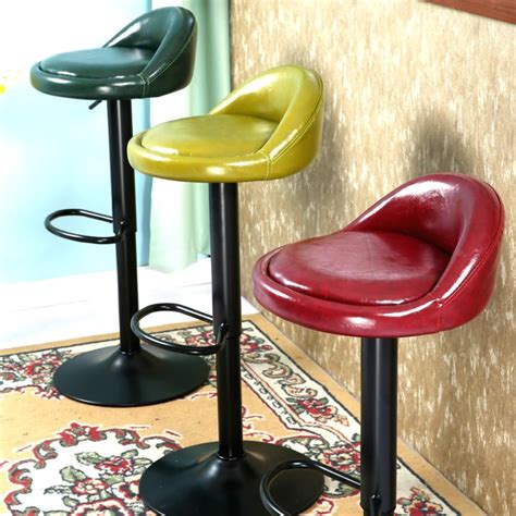 desk stool with back retro lift bar stool european bar highchair stool front