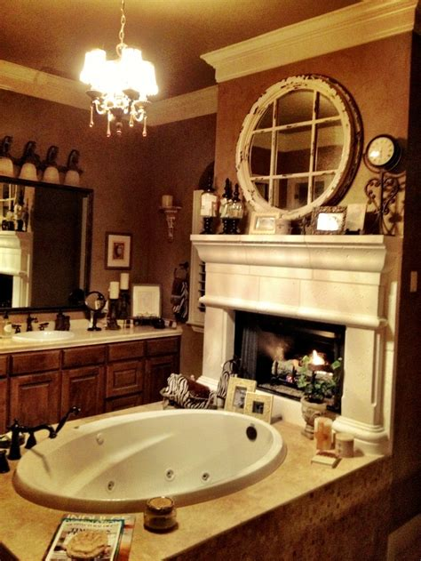 images  bathroom fireplaces  pinterest