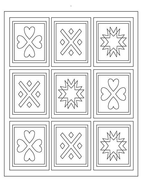quilt coloring pages images  pinterest mandalas