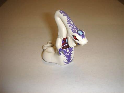 lego ninjago white snake pythor minifigure    ebay