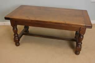vintage coffee table antique oak coffee table low occasional table antiques 6859