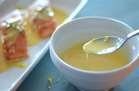 lemon beurre blanc meyer lemon beurre blanc over salmon karista s kitchen