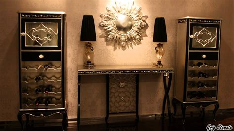 Home Interior Gold Butterflies : Black And Gold Decor Accessories, A Stylish Interior