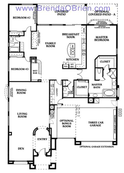 saddlebrooke floor plan cheyenne model