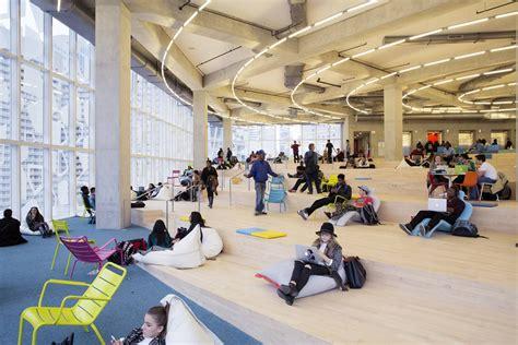 snohettas learning center  torontos ryerson university