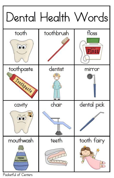 dental health writing center dental health writing