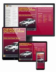 Chevrolet Nova  U0026 Geo Prizm  85