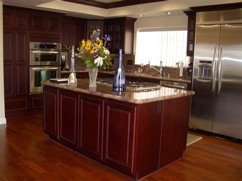 kitchens with cherry cabinets kitchen ideas with cherry cabinets home furniture design 6609