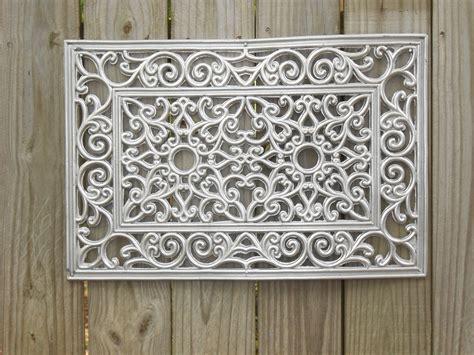 rubber doormat wall 5 black rubber door mat spray painted with silver metal