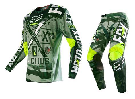 fox motocross gear sets fox racing new 2016 mx 180 vicious army green bmx