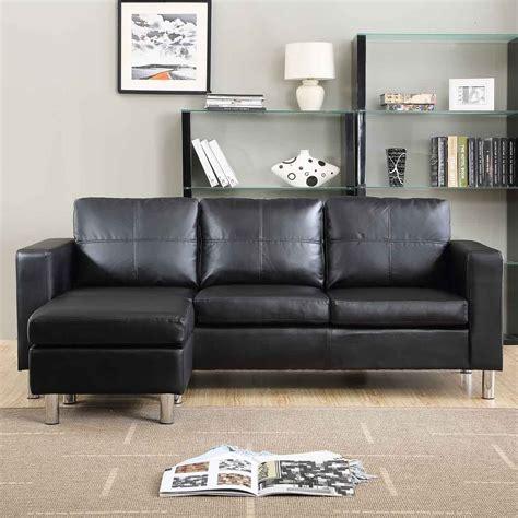 divano angolare roma  pouf  cm ecopelle bianco nero