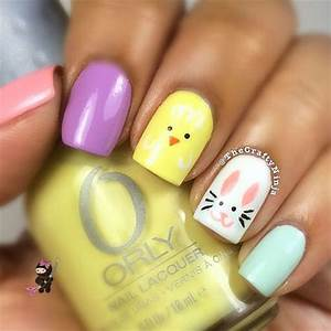 Easy easter nail art designs ideas trends stickers