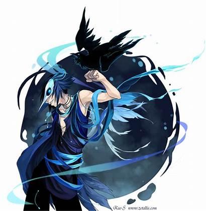 Raven Spirit Zetallis Deviantart Anime Outlines Seraphim