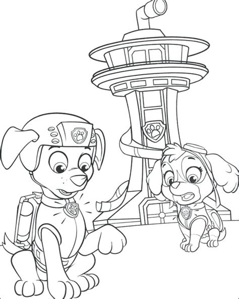 Paw Patrol Easter Coloring Pages at GetColorings com