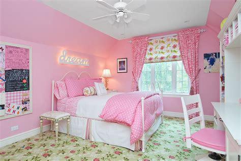 ideas  pink girls bedrooms interior god