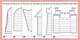 labelled diagram   castle castle castles