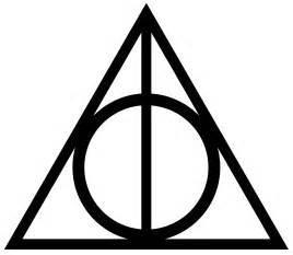 Deathly Hallows Sign Pumpkin Carving by Ele Venceu A Morte Ele Venceu O Voldemort
